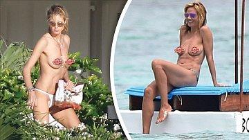 Heidi Klum se rozhodně nemá za co stydět.