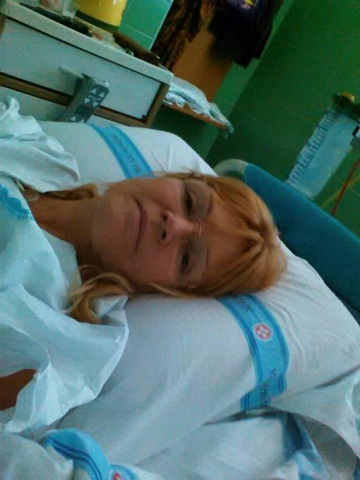 Věra Martinová si v nemocnici dost vytrpěla.