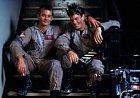 Bill Murray a Dan Aykroy během natáčení Ghostbusters.
