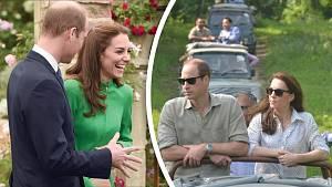 Princ William s manželkou láskyplnými doteky na veřejnosti šetří. Za šest let manželství nepředvedly žádné.