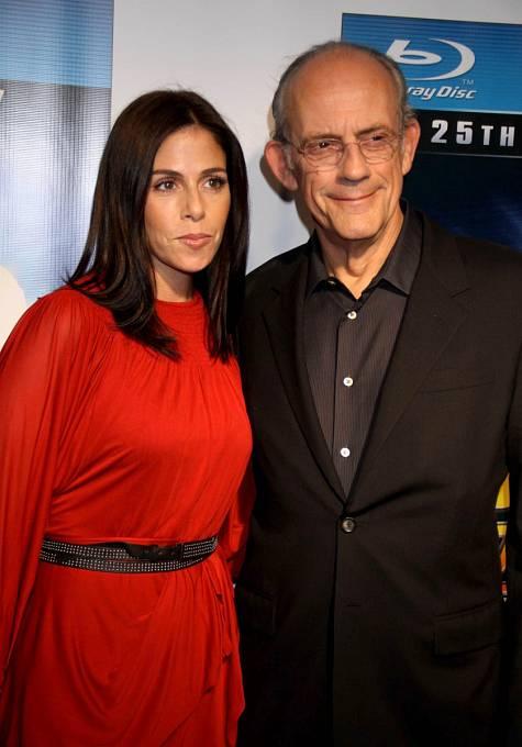 S přítelkyní Lisou v roce 2010.