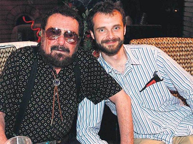 Waldemar Matuška se svým synem Waldou juniorem.