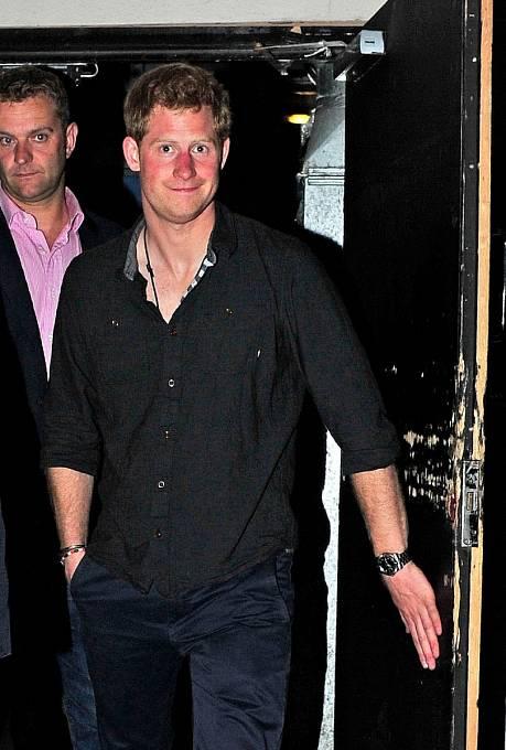 Princ Harry na tahu