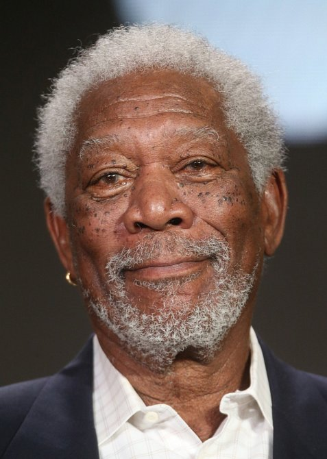 Morgan Freeman je proslulý optimista.
