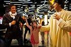 Šestiletá Veronika si oslavu v muzeu pořádně užila.