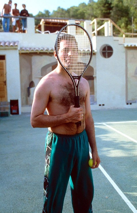 Freddie byl vášnivý sportovec.