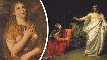 Kající se Máří Magdaléna byla pro malíře vděčným námětem.