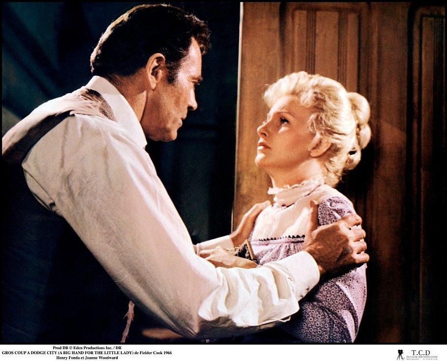 SHenrym Fondou vewesternu Vysoká hra pro pravou dámu (1966).