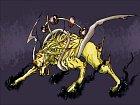 Jedna z možných podob zvířete. Samozřejmostí jsou sršící drápy.
