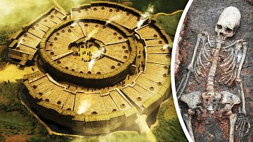 Takhle starodávné sídlo vypadalo. Ale proč měli jeho obyvatelé podivně protáhlé lebky?