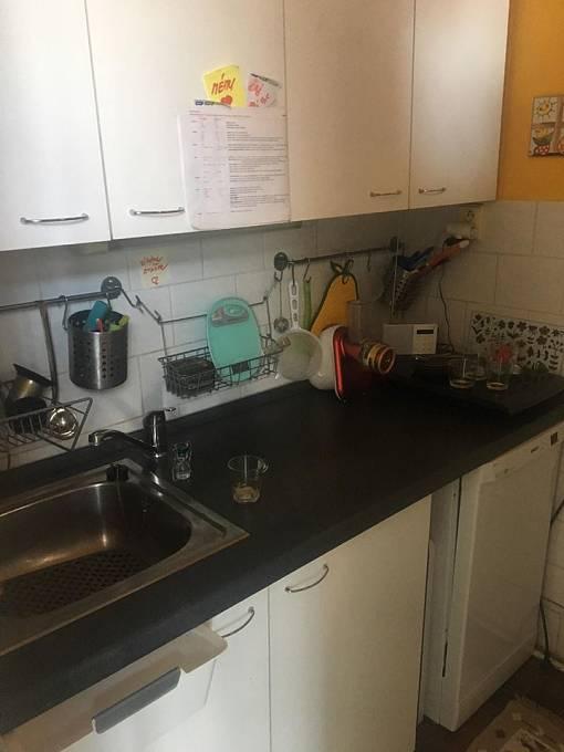 Kuchyňka je sice malá, ale za to útulná.