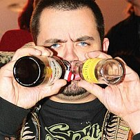Pavel Novotný měl po jointu opravdu velkou žízeň.