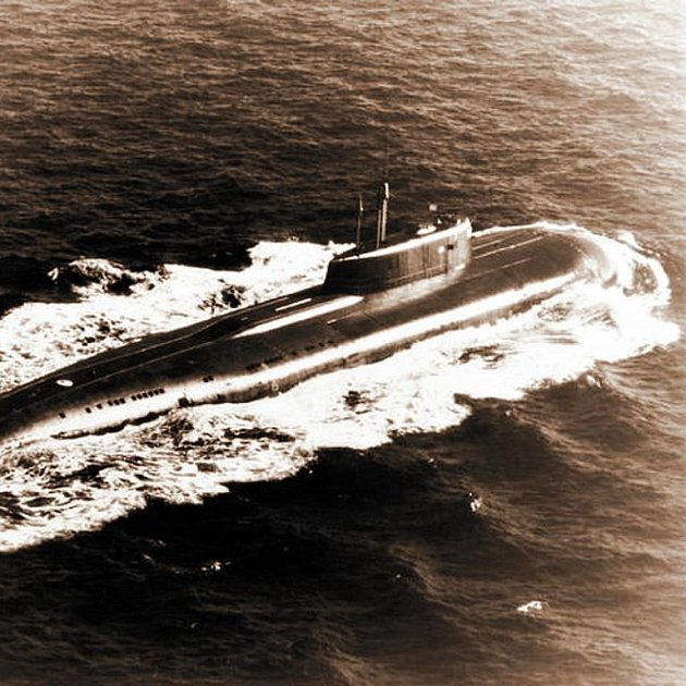 Ponorka v dobách své největší slávy.