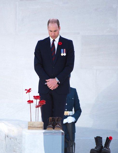 Princ William teď musí poslouchat.