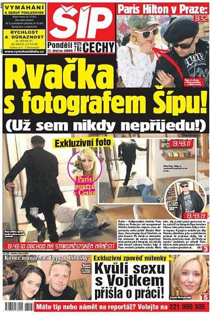 Titulka 31. 3. 2008