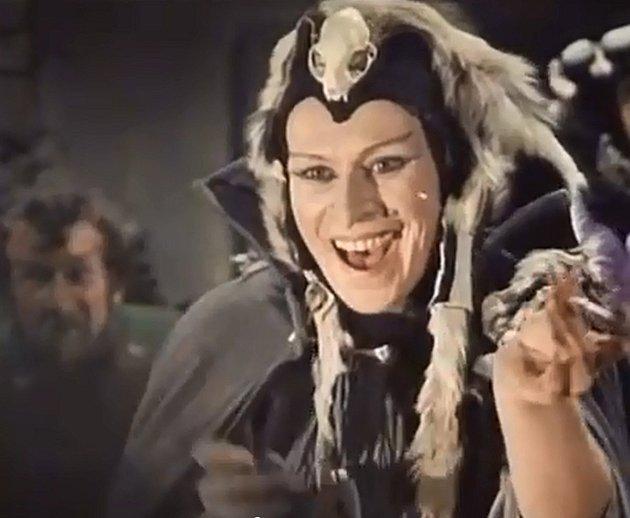 Jana a její životní role čarodějky v Arabele.