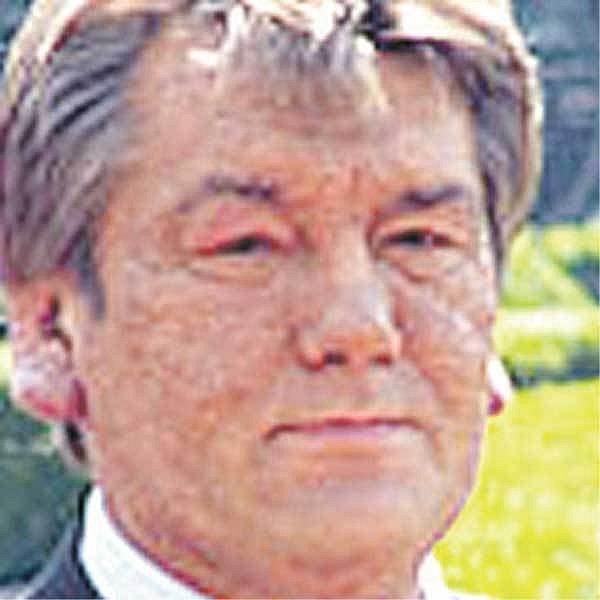 Ukrajinský prezident Viktor Juščenko