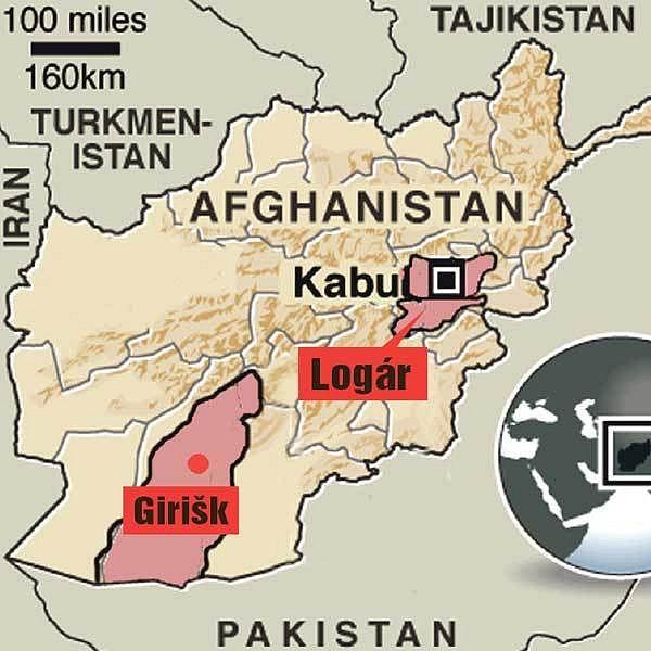 Ilustrační mapka
