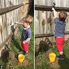 Nechat dítě natírat plot vodou? Minimálně hodina klidu!