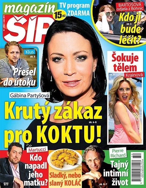 Titulní strana Magazínu Šíp 7.8.2013