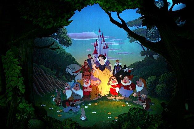 Disneyovská Sněhurka je už takřka folklór.