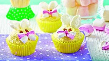 Jarní košíčky se zajíčky