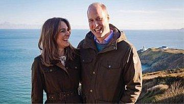 Kate Middleton a Princ William při návštěvě Irska.16:9