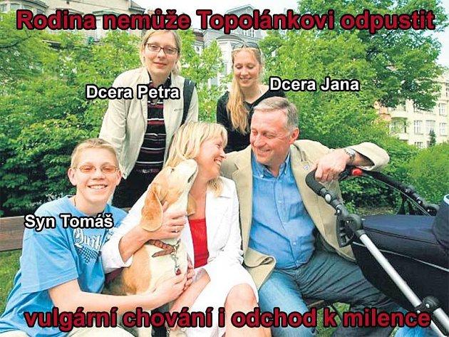 Rodina Mirka Topolánka