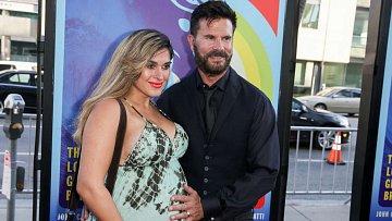 Lorenzo Lamas s těhotnou manželkou