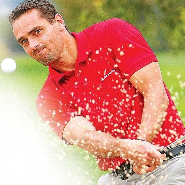 Šebrle jako golfový profík.