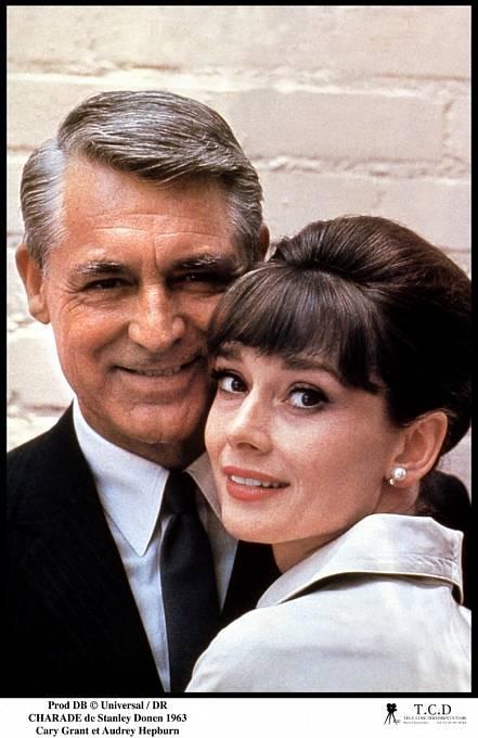 59 let: Vkomedii Šaráda (1963) se sešel sdalší kráskou Audrey Hepburnovou.