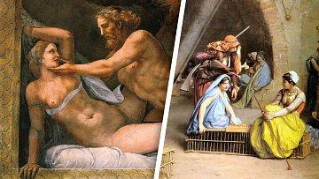 Ve starověku ženy absolutně podléhaly mužům.