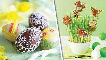 Povidlová vajíčka a medové perníčky