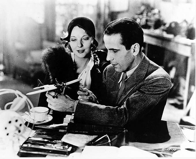 Romantické drama Milostná aféra (1932). Nasnímku sDorothy Mackaill.