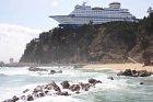 Tak tohle je loď na skále. Tedy hotel ve tvaru lodi na skále.