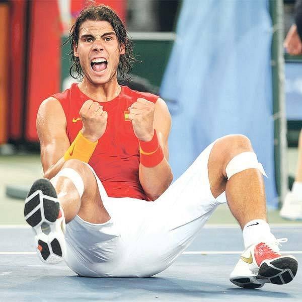 Po French Open a Wimbledonu vyhrál Nadal i olympijský turnaj.