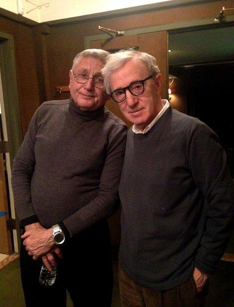 Jiří Menzel a Woody Allen