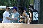 Fotografové nachytali Kendall Jenner na festivalu Coachella.