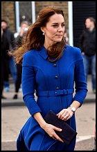 Kate byla poslední dobou až extrémně hubená.
