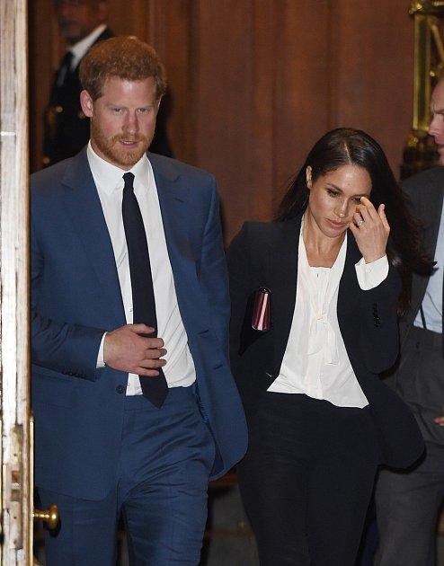Princ Harry a jeho přítelkyně Meghan Markle