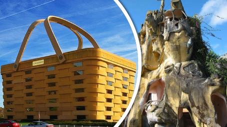 Nejdivnější budovy na světě!