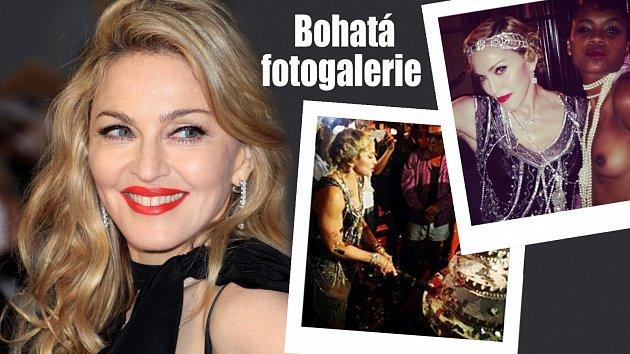 Madonna to i s šedesátkou na krku umí pořádně rozjet!