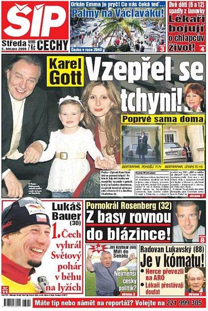 Titulka 5. 3. 2008