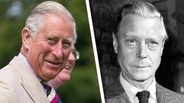 Princ Charles a Princ Edward VIII.