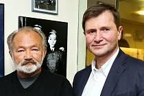 Rudolf Hrušínský s bratrem Janem