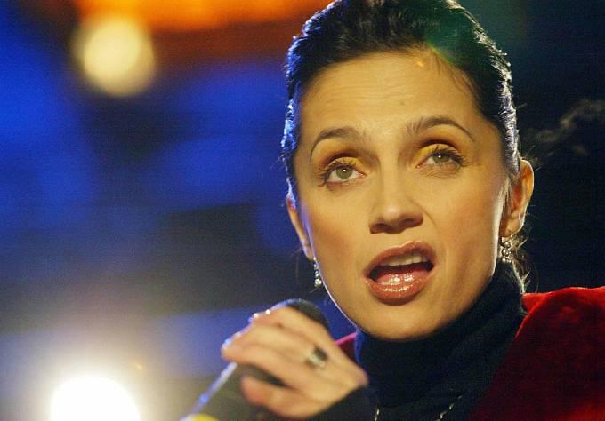 Výrazy při koncertech měla Bílá vždy vychytané.