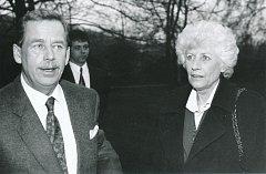 Olga Havlová i po smrti zůstala milovanou ženou Václava Havla.