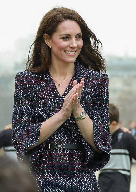Kate Middleton se těší na další miminko.