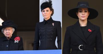 Meghan Markle, Kate Middleton a královna Alžběta