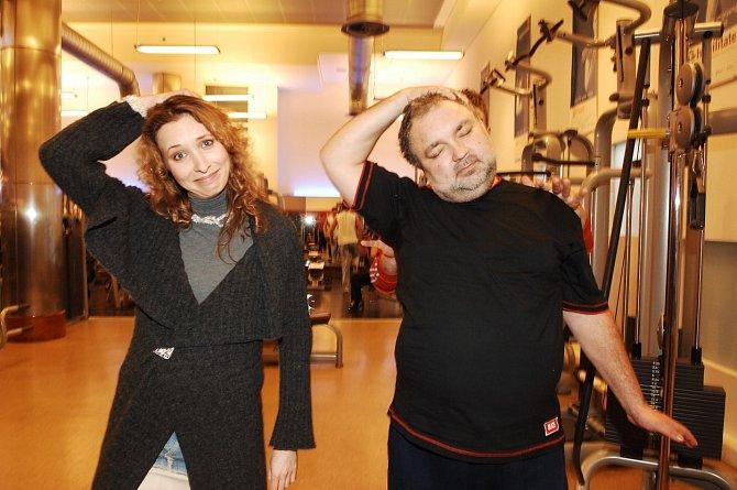 Tereza Bebarová tvořila v nekonečném seriálu Ulice pár s Václavem Svobodou.
